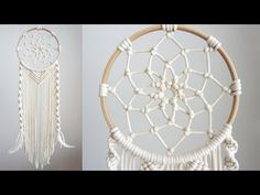 Best No Cost modern Macrame diy Popular Macrame Wall Hanging Diy, Macrame Plant Hangers, Dream Catcher Craft, Large Dream Catcher, Feather Dream Catcher, Dream Catchers, Dream Catcher Tutorial, Diy Kit, Macrame Design
