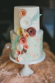 Spring Wafer Paper Cake - Cake by TLC