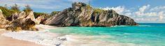 Turquoise Bermuda Coastline Bermuda — Grotto Bay Beach Resort