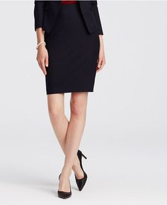 Primary Image of All-Season Stretch Pencil Skirt