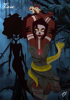 Disney Character Cosplay DISNEY ART ALL TWISTED UP So here at Travis Simmons Headquarters we love looking through fantasy art. We love fantasy, and we love . Dark Disney Princess, Evil Princess, Zombie Princess, Punk Princess, Princess Art, Disney Fan Art, Disney Love, Dark Disney Art, Disney Horror