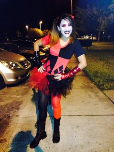 Harley Quinn costume!! Made by Wildy's Creations!!   Wildyscreations@yahoo.com