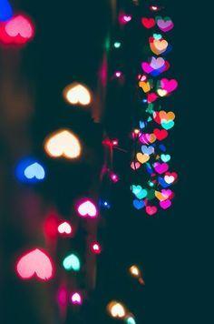 Christmas lights (by Veronika Kotyash) We Heart It Wallpaper, Cute Black Wallpaper, Love Wallpaper Backgrounds, Phone Screen Wallpaper, Cute Wallpaper For Phone, Pretty Wallpapers, Colorful Wallpaper, Cool Wallpaper, Iphone Wallpaper