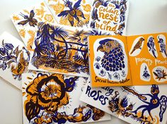 Spontaneity is key when subject to the playful inkings by Art Director, Illustrator and Print Maker, Natalya Balnova. Predominantly producing decorative drawings freehand using dark ink and experim… Botanical Illustration, Illustration Art, Bunny Drawing, Silk Screen Printing, Illustrations, Art Sketchbook, Book Design, Cover Design, Art Journal Pages