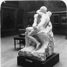 ''Le Baiser'' par Rodin