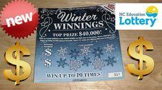 Winter Winnings NC Scratch Ticket