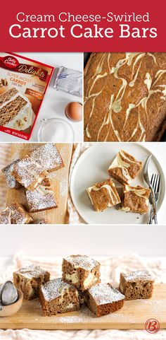 Carrot Cake Bars on Pinterest | Carrot Cakes, Carrots and Healthy ...