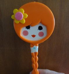 Vintage Rare Little Girl Hand Mirror And Comb by Tracystreasures4u, $10.00