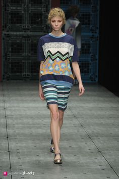Spring/Summer 2015 Collection of Japanese fashion brand IN-PROCESS BY HALL OHARA