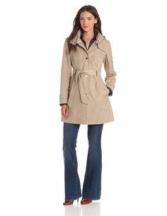 Tommy Hilfiger Hooded Rain Trench Coat | Cassa Clara