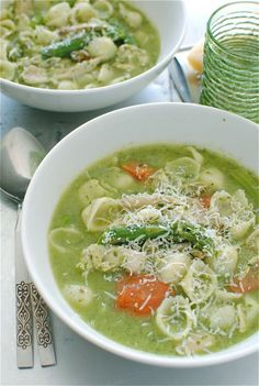 Chicken Pesto Minestrone