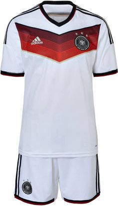 adidas Kinder & Jugend DFB Home Kit WM 2014 auf shopstyle.de