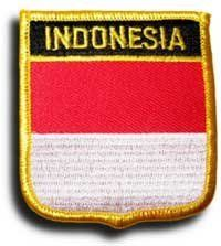Indonesia - Country Shield Patch by Flagline. $2.75. Save 30%!