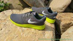 best website f047f 49c52 meilleur chaussure de running Gris loup   Fluorescent Jaune   Blanc Sails  654473-002 Nike