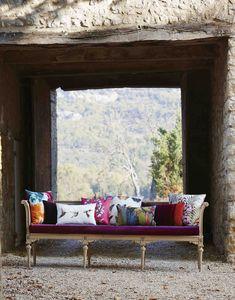 Botanical inspired fabrics from Harlequin's Amazilia collection