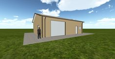 3D #architecture via @themuellerinc http://ift.tt/2p91t9c #barn #workshop #greenhouse #garage #DIY