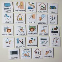 Oskola Denní režim - rozšíření - malé kartičky - Didaktické hračky