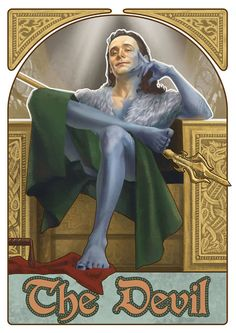 Fan Art: The Avengers are Surprisingly Fitting as Cool Tarot Cards | moviepilot.com