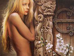 Maria Ilieva, Feeling , oil on canvas