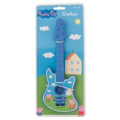 Peppa Pig Guitar (Blue): Amazon.co.uk: Toys & Games