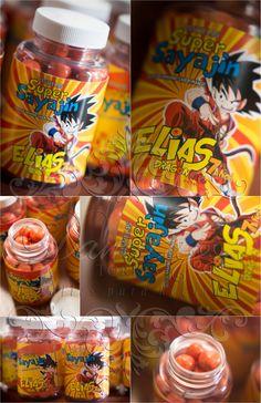 Pastilleros de dulces, Goku, Sayajin
