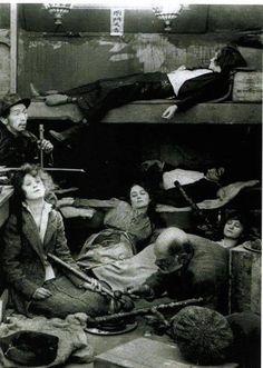 Clandestine Opium den, 1907, Saint-Ouen.