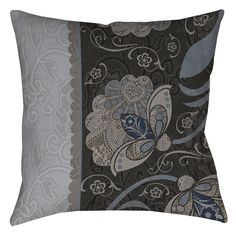 Elegante Indoor/Outdoor Throw Pillow