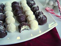 Deliciosa Video Receta de Bolita de coco cubiertas de chocolate de Disfrutando de la Cocina - Cocina para disfrutar