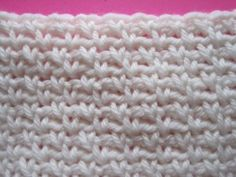 Stitches for you crochet arsenal part 1 - Moss Stitch, Chevron Stitch, and Smocking Stitch