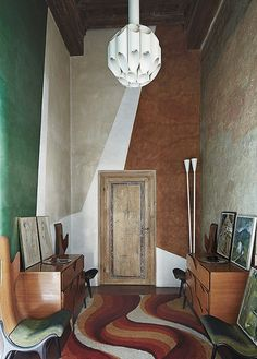 Roberto Baciocchi's Eclectic Home-EclecticTrends Casa Flora Diego | Eclectic Trends #ItalianStyle #colorpalette #interiodesign #EclecticTrendsBlog