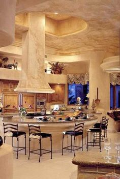 circular kitchen