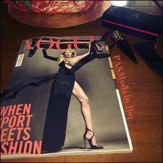 My Vogue 08/2016 (Silky Satin Loubi) ❤️