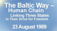 Restored independence of 3 Baltic states: Lithuania- 11 March 1990; Estonia- 20 August 1991; Latvia- 21 August 1991.