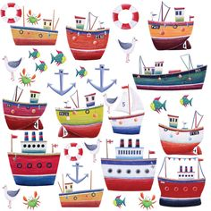 RoomMates RMK1134SCS Ship Shape Peel  Stick Wall Decals - Amazon.com