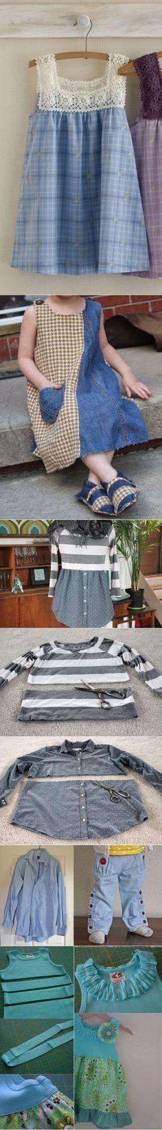 Как из старой одежды сделать стильные вещи