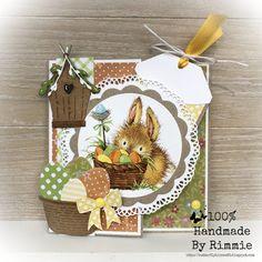 100% Handmade By Rimmie: Vrolijk Pasen!