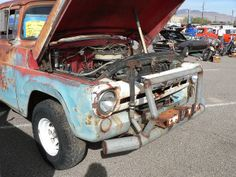 57 FORD F100 Rockabilly Reunion - Lake Havasu City, AZ | Flickr - Photo Sharing! Check out where the water goes.