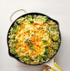 baked pepper jack quinoa skillet **I know . so much dairy . But the veggies & quinoa are so healthy! Best Quinoa Recipes, Healthy Dinner Recipes, Vegetarian Recipes, Healthy Meals, Tofu Recipes, Diet Meals, Recipies, Easy Meal Prep, Easy Meals