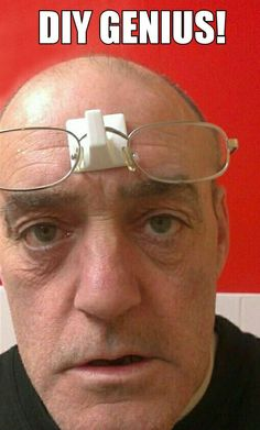 Now I think that is is a great idea altogether! Definitely hair is needed. Laugh A Lot, Have A Laugh, Optometry Humor, Optometry Office, Funny Jokes, Hilarious, Eye Jokes, Stupid Funny, Funny Cute