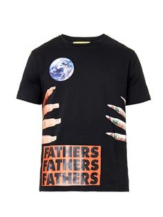 Nails and fathers-print T-shirt | Raf Simons/Sterling Ruby | M...