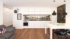 Wizualizacja Mieszkania | Wizualizacja Kuchni