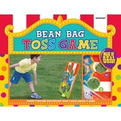 Bean Bag Toss Game | 6 Pieces for $24.75 in Games & Activities - Carnival