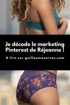 Comment Réjeanne utilise Pinterest pour son business ? Je décode le Pinterest marketing de la marque française qui révolutionne les culottes menstruelles. Chaque mois, je suis hyper content de te retrouver pour décortiquer toutes les facettes du Pinterest marketing des plus belles marques françaises. Culottes, Pinterest Marketing, Articles, Business, Bikinis, Blog, Veneers Teeth, Bikini, Blogging