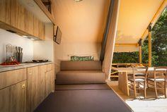 Glamping tent Adria home