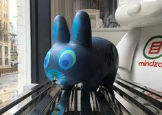 """Amanda Vissell's 10"""" Scaredy Labbit is 15% off for our Daily Deal. Make sure to """"Turn On Post Notifications"""" at the top right of this post (click the """"..."""") so you never miss out on our Daily Deal announcements.  #amandavissell #kidrobot #scaredylabbit #labbit #labbits #arttoys #arttoy #vinyltoy #vinyltoys #designertoys #desgnertoy #designer #designers #art #vinyl #toy #toys #collectibles #collectible #markham #mindzai #toronto"""
