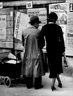 Francais, Reveillez-Vous Photo by Brassaï  c. 1946