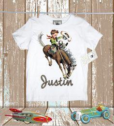 Custom Cowboy Children's Shirt