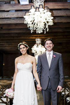 Photography: Photo Kronology - photokrono.com  Read More: http://www.stylemepretty.com/2014/01/23/boho-wedding-at-the-carondelet-house/