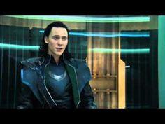 "The Avengers-Loki ""reveals"" his Plan to Black Widow(HD Scene)"