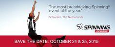 Spex 2015 op zaterdag 24 en zondag 25 oktober! een van de meest indrukwekkende Spinning®events! #opleidingen #6 uur marathon  https://m.facebook.com/events/501297306686344